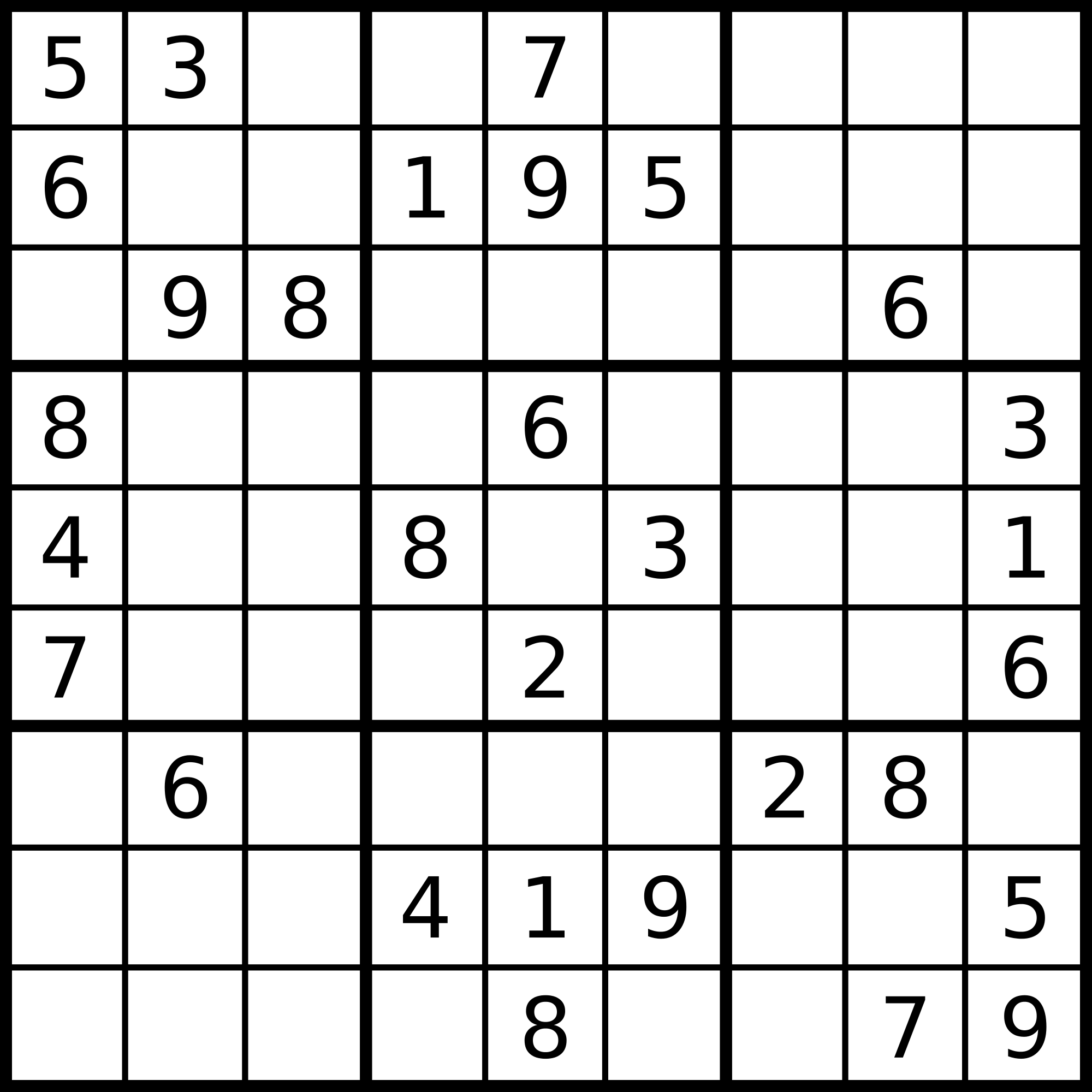 Leetcode: Check whether partially filled sudoku is valid
